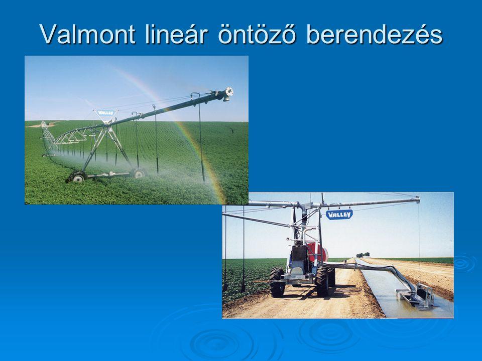 Valmont lineár öntöző berendezés