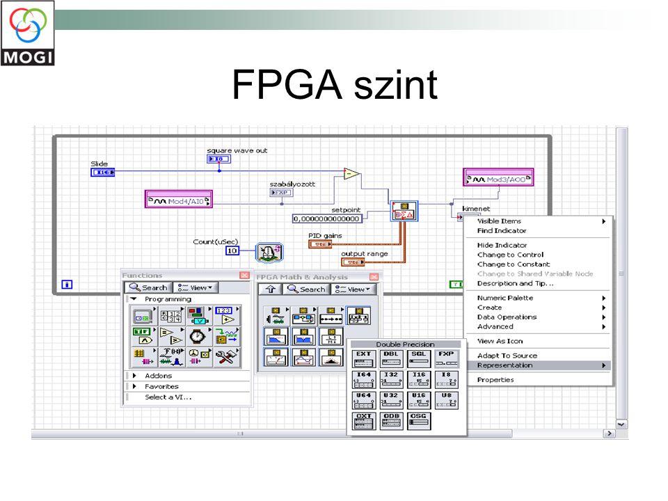 FPGA szint