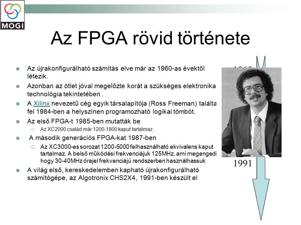 Az FPGA rövid története