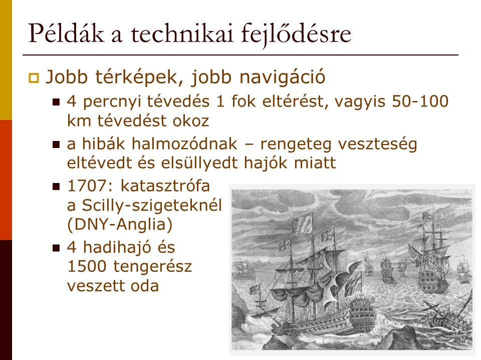 Példák a technikai fejlődésre