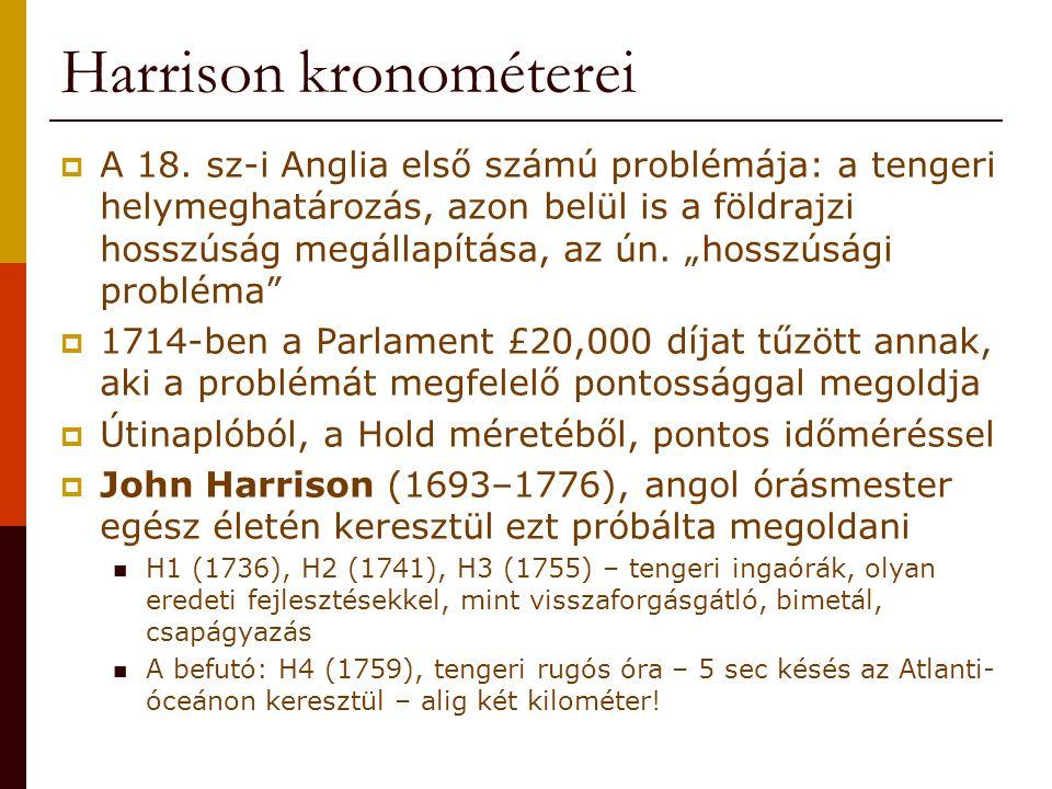 Harrison kronométerei