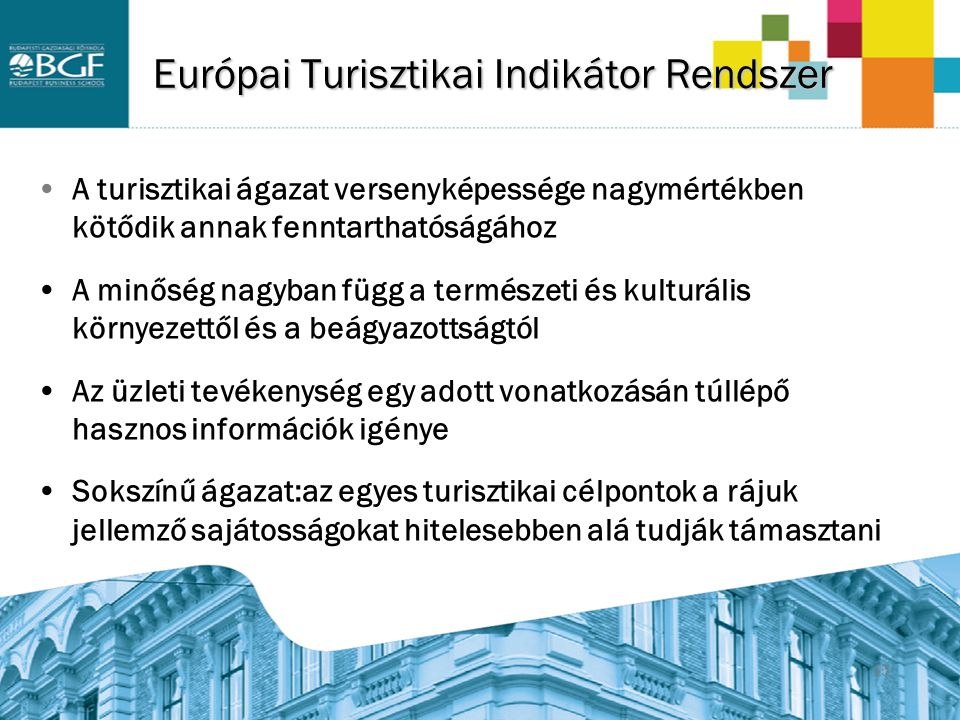 Európai Turisztikai Indikátor Rendszer