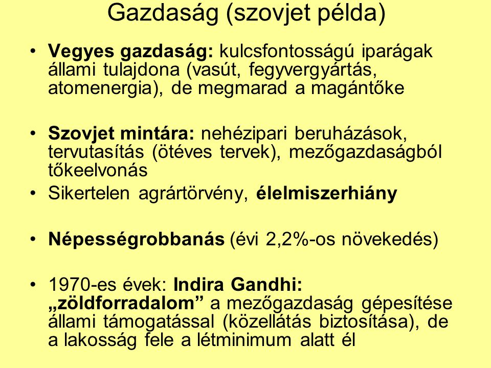 Gazdaság (szovjet példa)