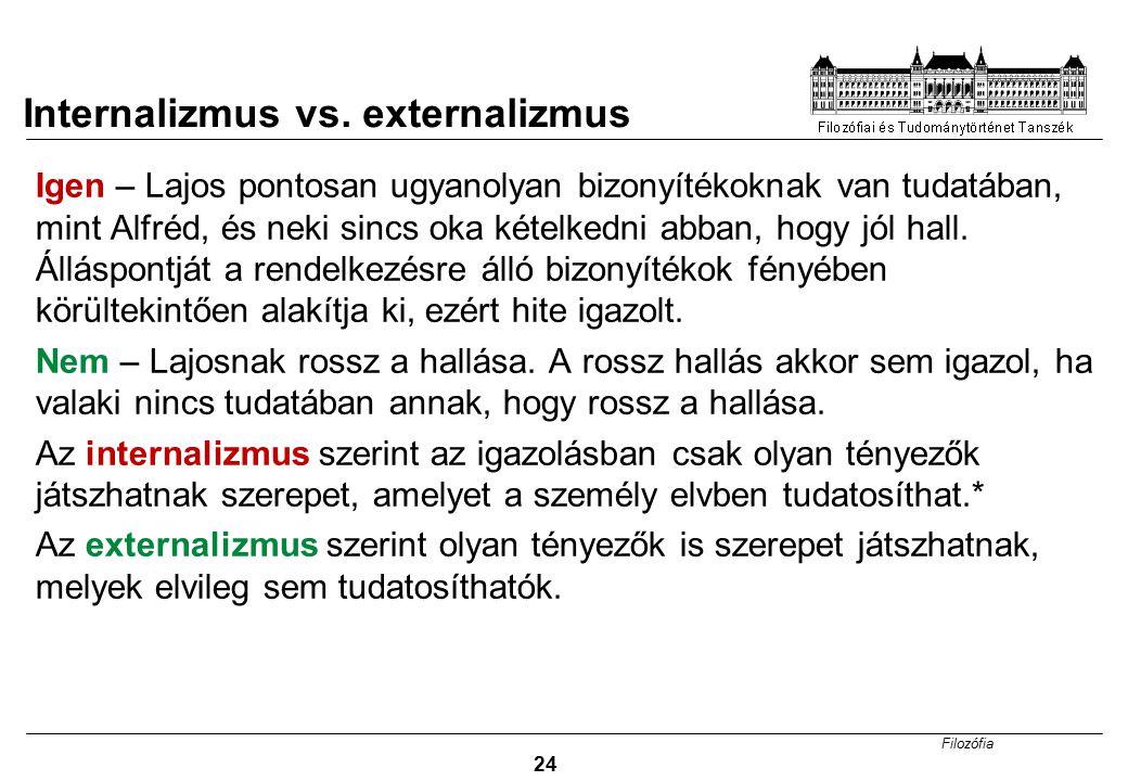 Internalizmus vs. externalizmus
