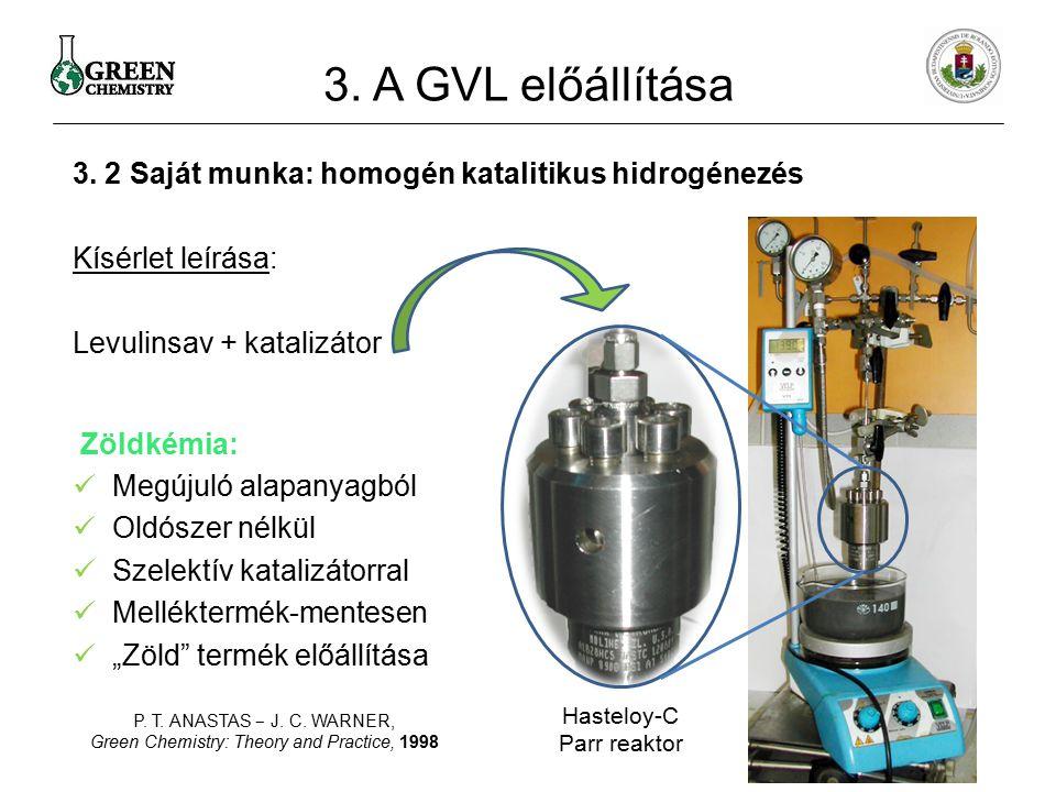 Hasteloy-C Parr reaktor
