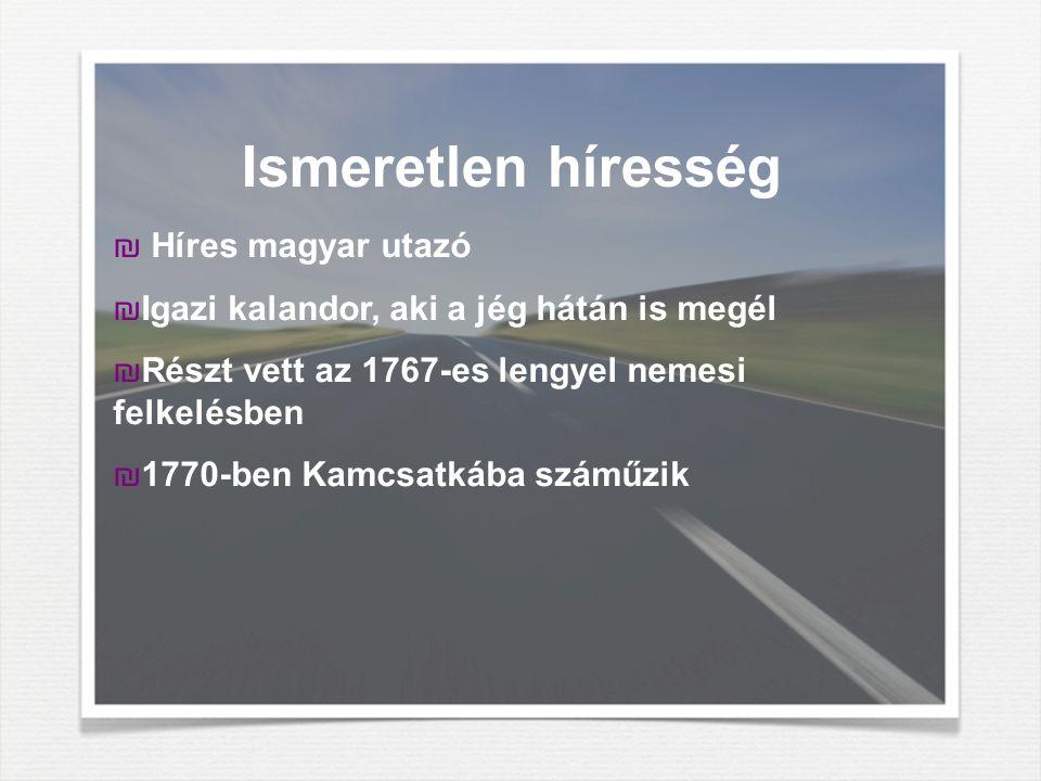Ismeretlen híresség Híres magyar utazó