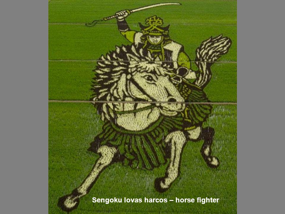Sengoku lovas harcos – horse fighter