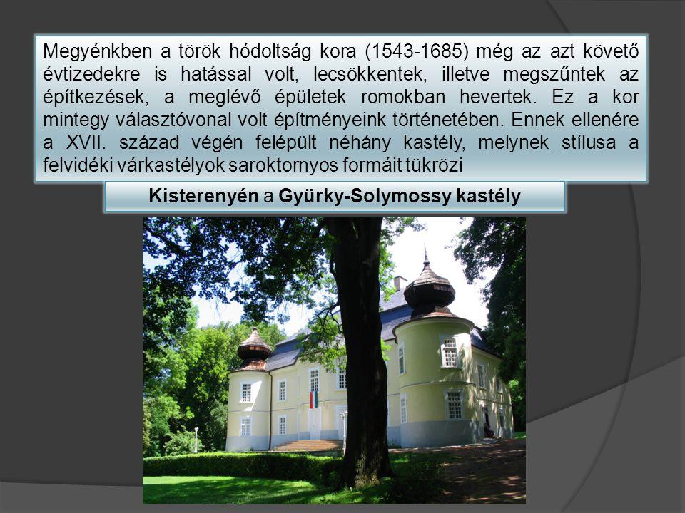 Kisterenyén a Gyürky-Solymossy kastély