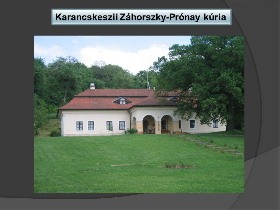 Karancskeszii Záhorszky-Prónay kúria