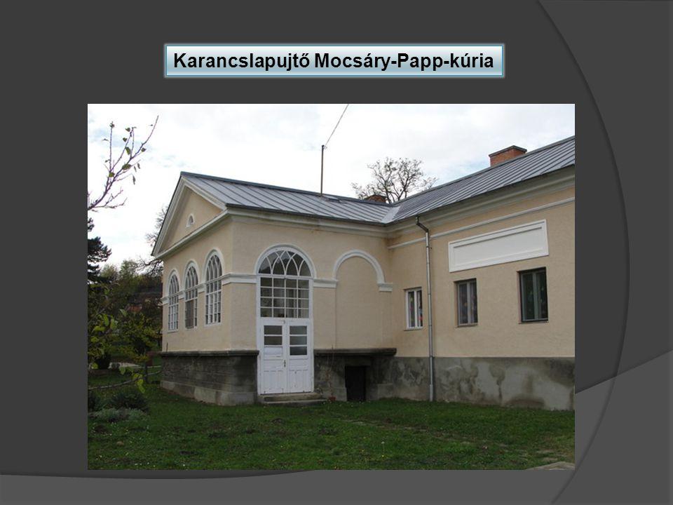 Karancslapujtő Mocsáry-Papp-kúria
