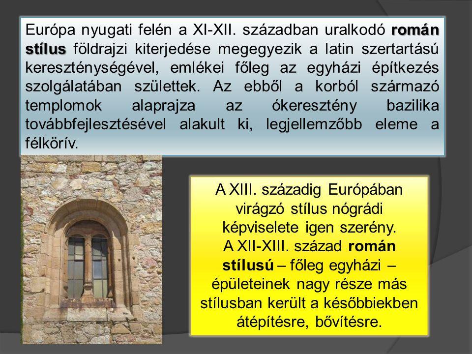 Európa nyugati felén a XI-XII