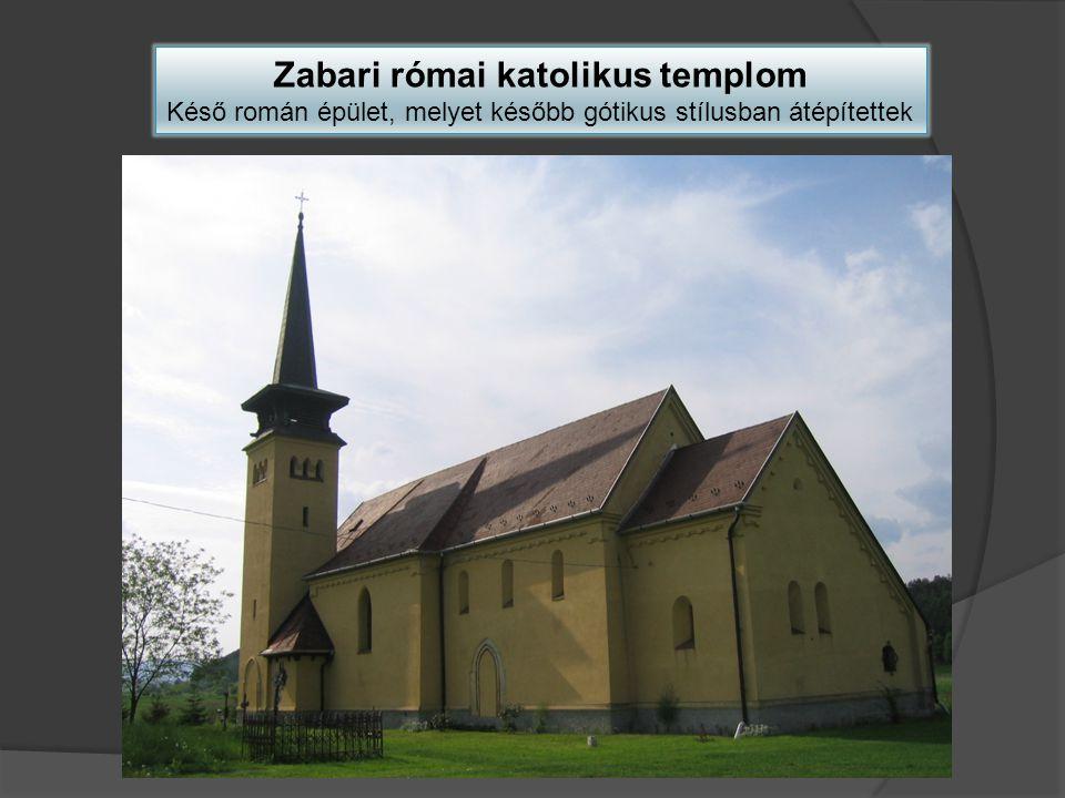 Zabari római katolikus templom