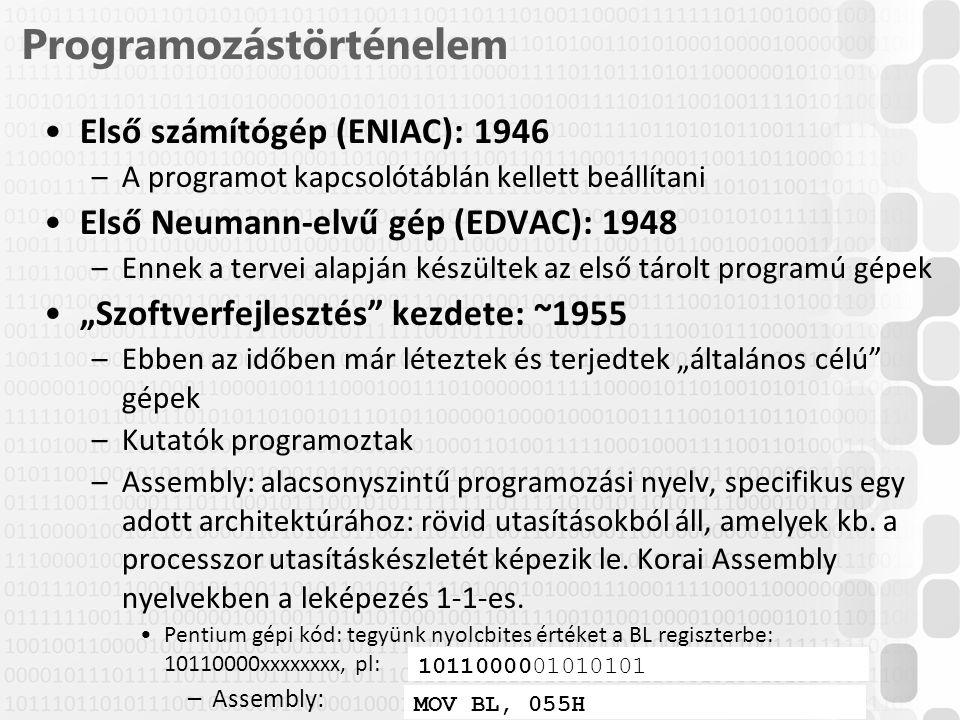 Programozástörténelem