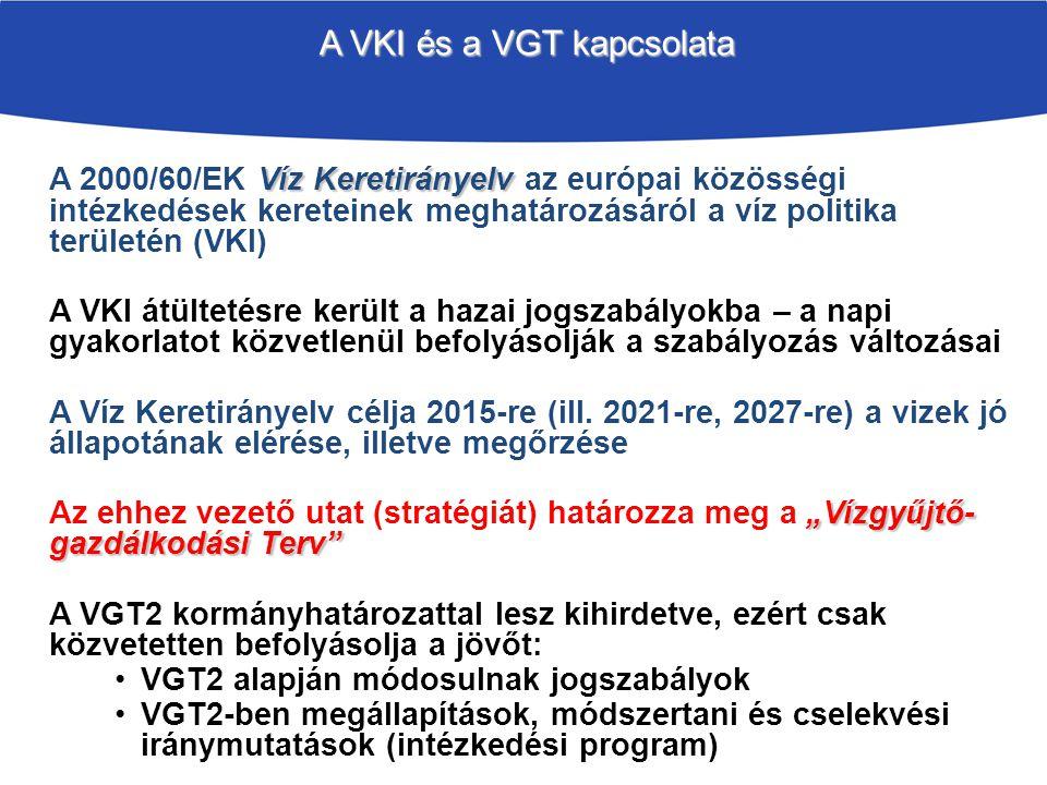 A VKI és a VGT kapcsolata
