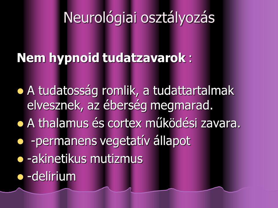 Neurológiai osztályozás