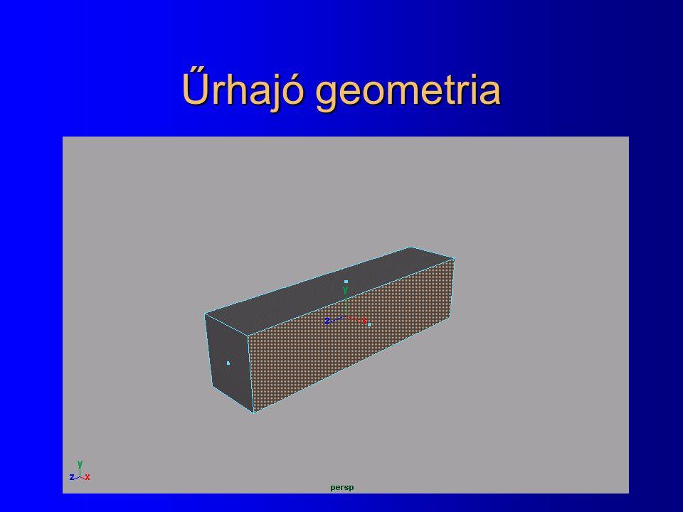 Űrhajó geometria
