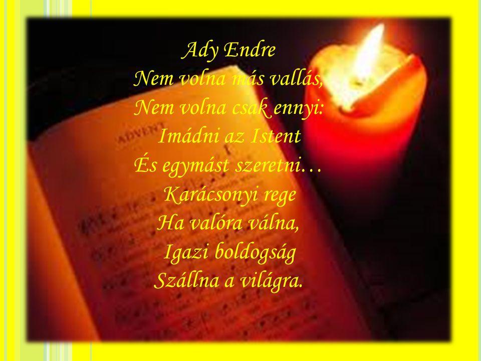 Ady Endre Nem volna más vallás, Nem volna csak ennyi: Imádni az Istent