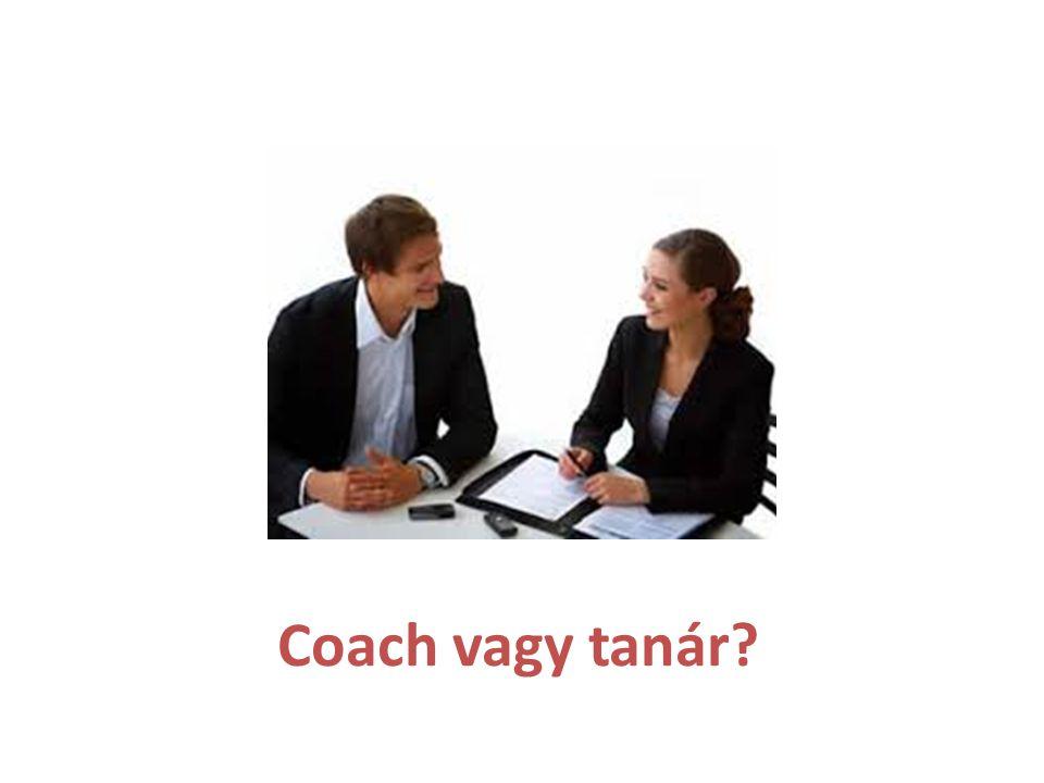 Coach vagy tanár