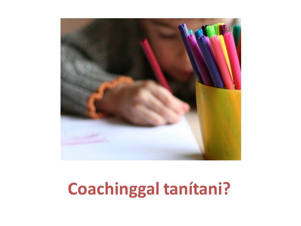 Coachinggal tanítani
