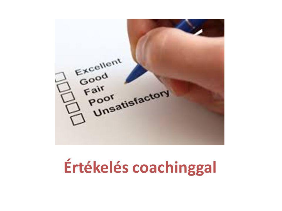 Értékelés coachinggal