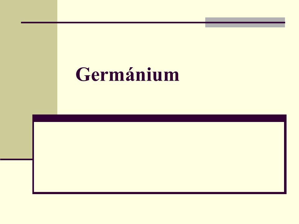 Germánium