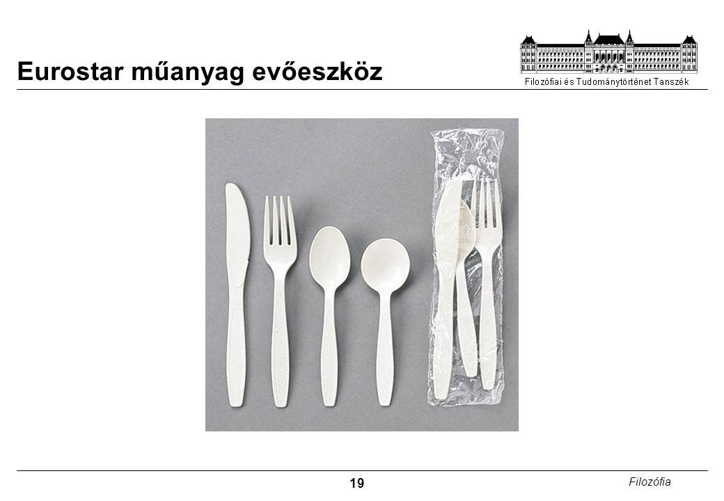 Eurostar műanyag evőeszköz