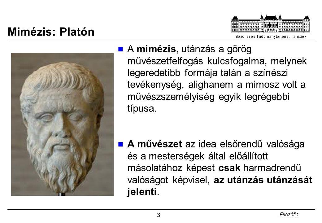 Mimézis: Platón