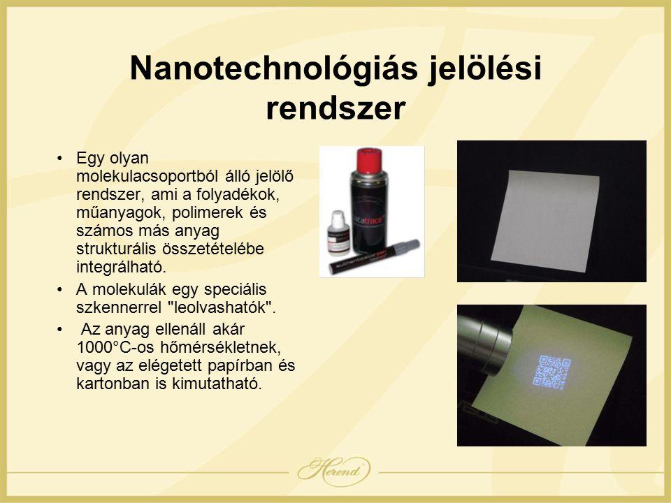 Nanotechnológiás jelölési rendszer