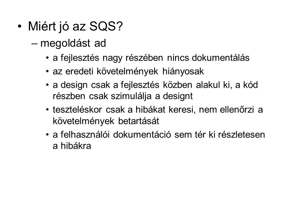 Miért jó az SQS megoldást ad