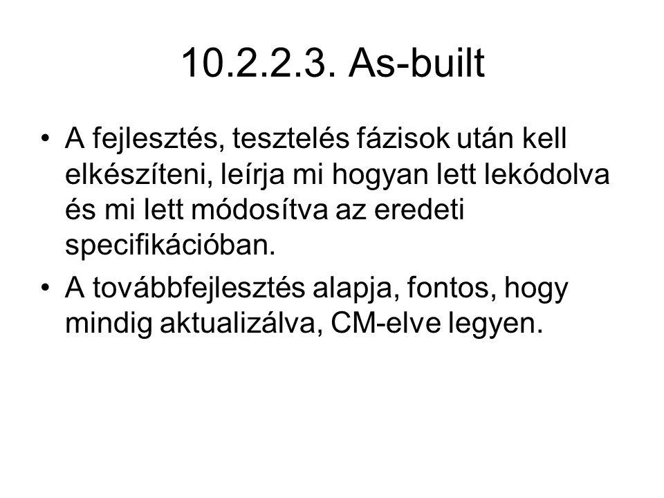 10.2.2.3. As-built