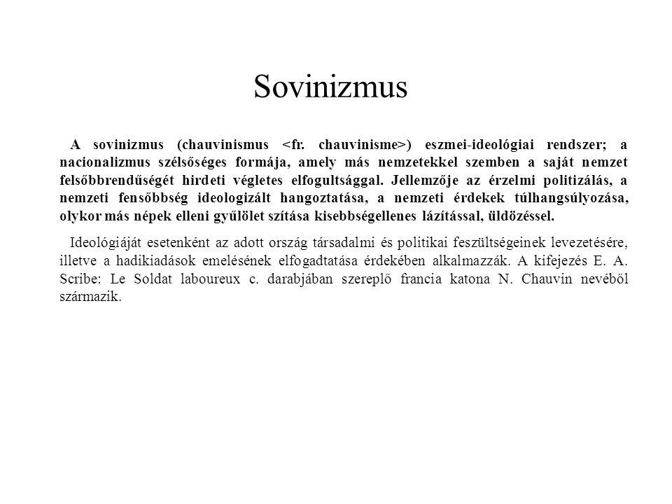 Sovinizmus