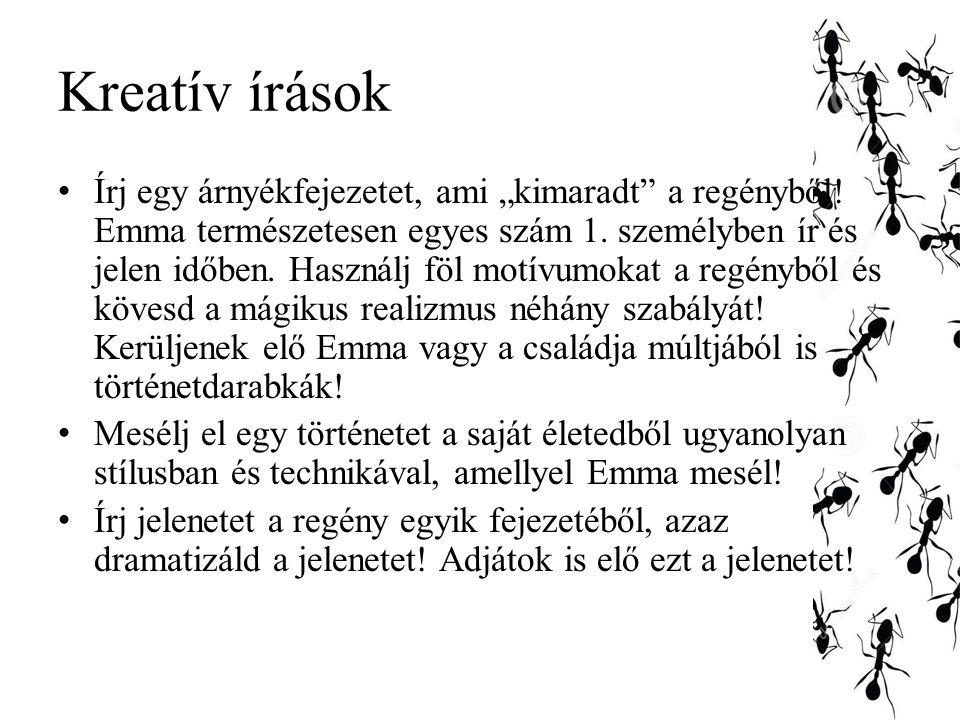 Kreatív írások