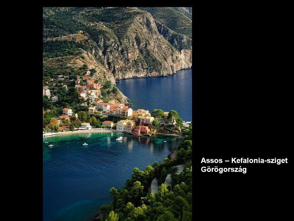 Assos – Kefalonia-sziget