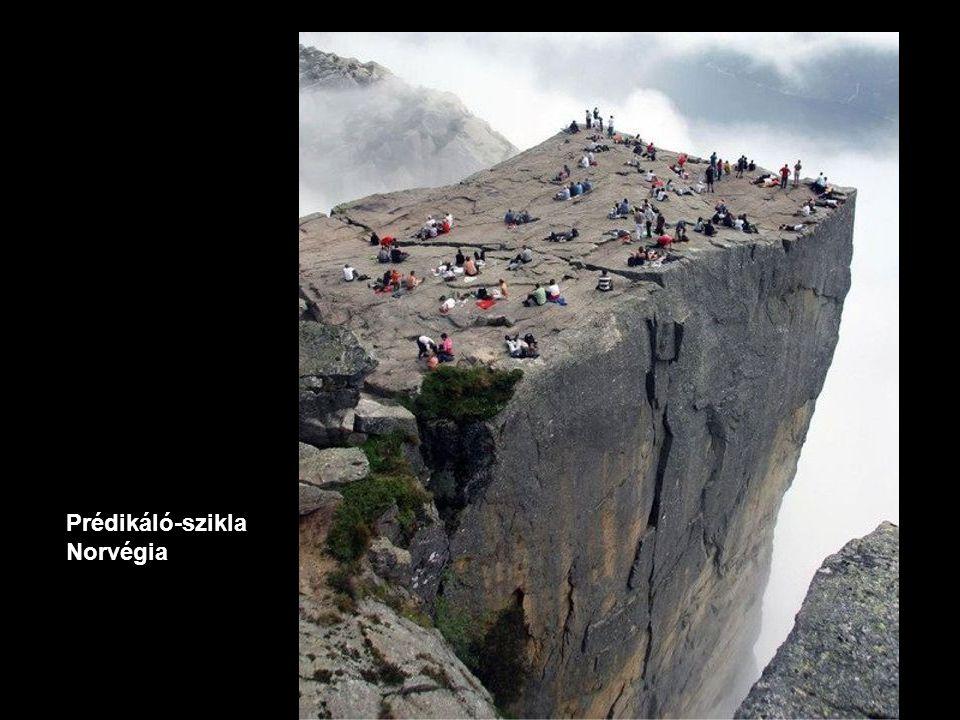 Prédikáló-szikla Norvégia
