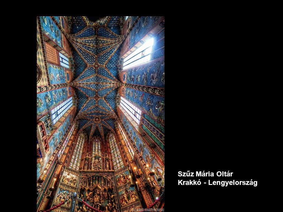 Szűz Mária Oltár Krakkó - Lengyelország