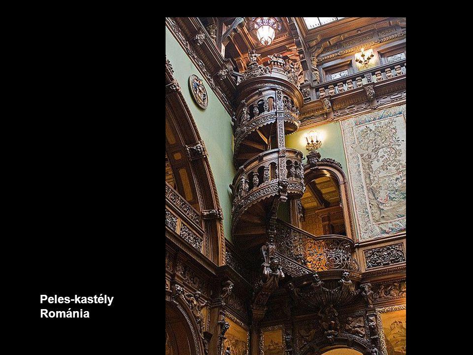Peles-kastély Románia