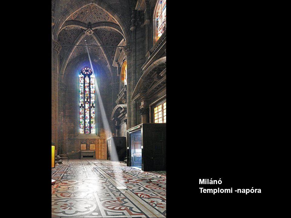 Milánó Templomi -napóra