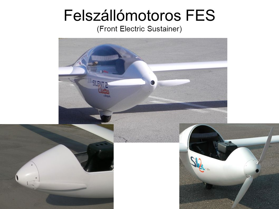 Felszállómotoros FES (Front Electric Sustainer)