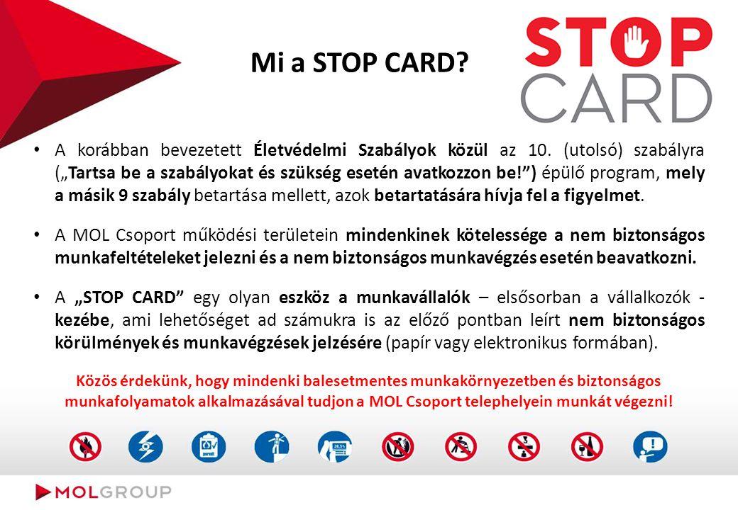 STOP CARD /Stop kártya/