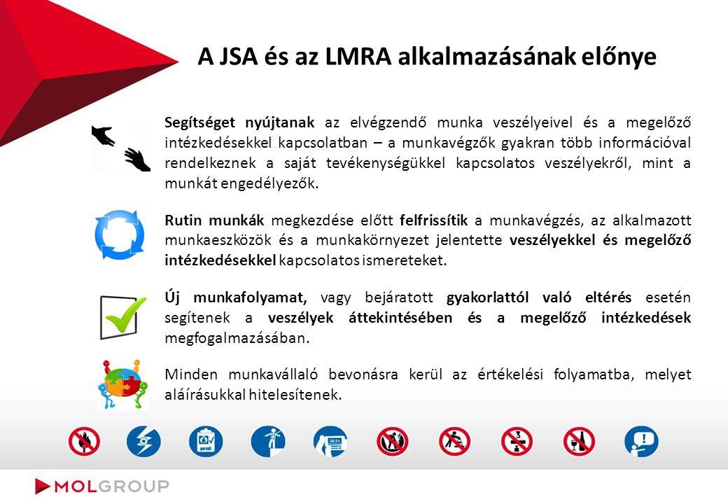 """Mi a """"Munkavégzést közvetlenül megelőző kockázatértékelés - LMRA"""