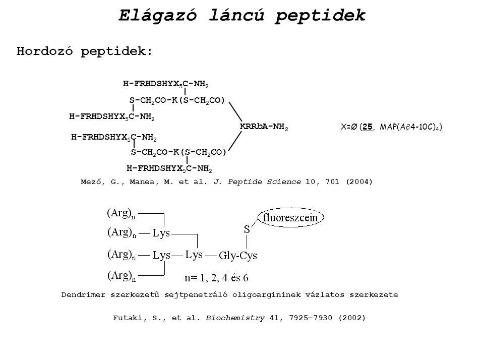 Elágazó láncú peptidek