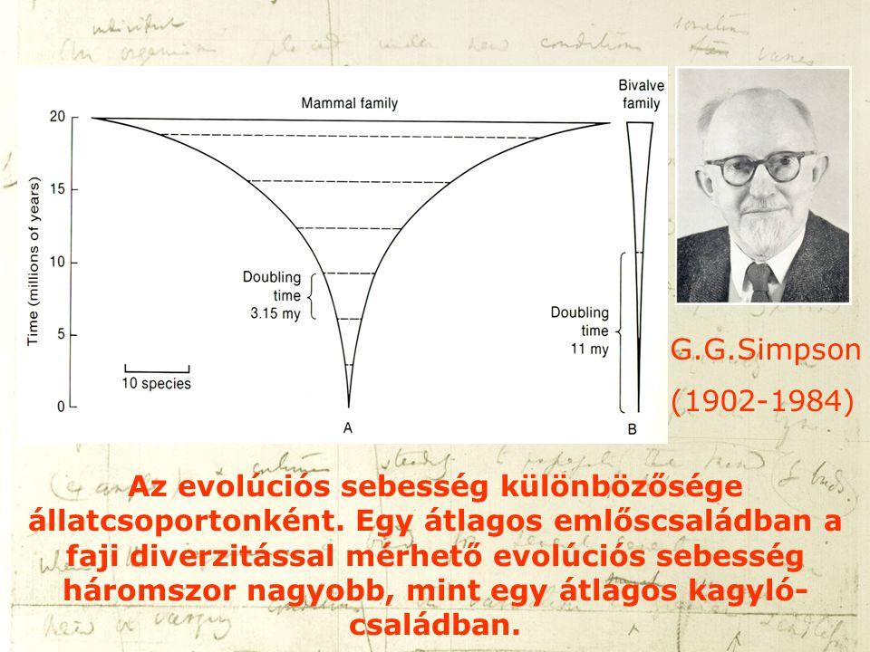 G.G.Simpson (1902-1984)