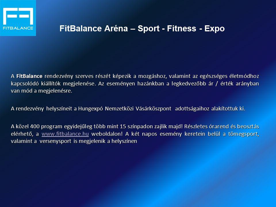 FitBalance Aréna – Sport - Fitness - Expo