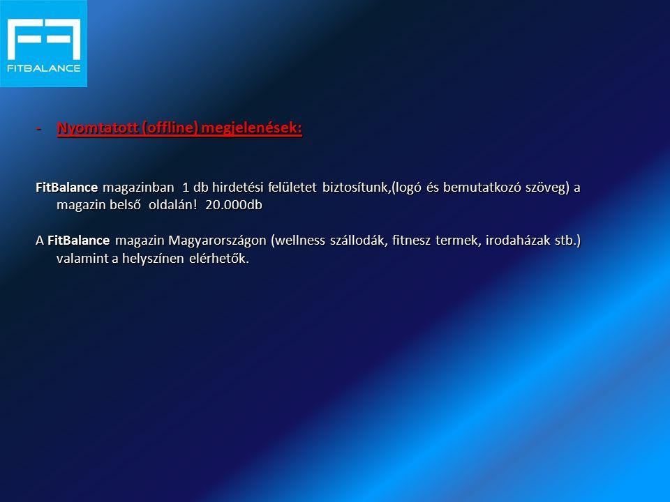 Nyomtatott (offline) megjelenések: