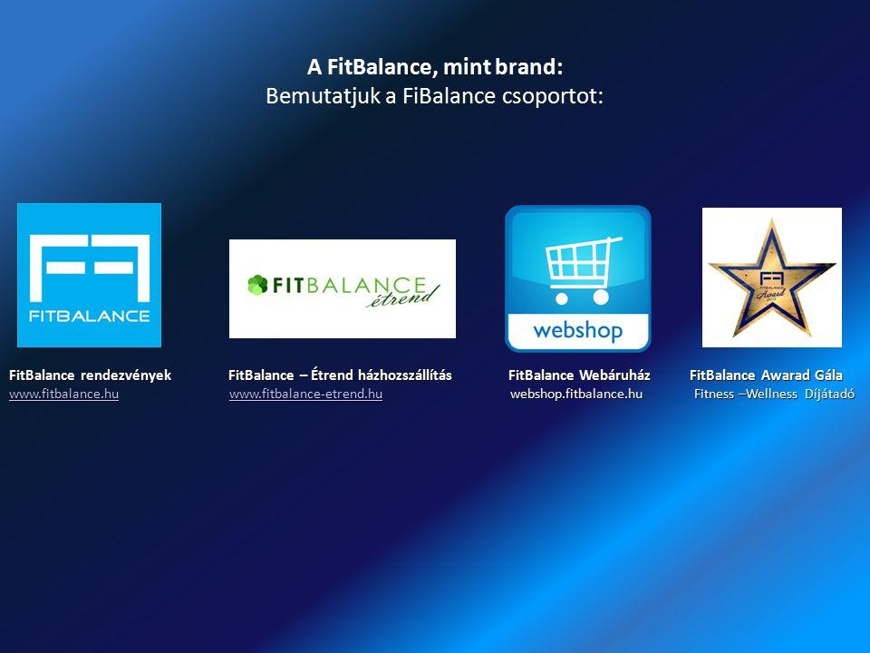 A FitBalance, mint brand: Bemutatjuk a FiBalance csoportot: