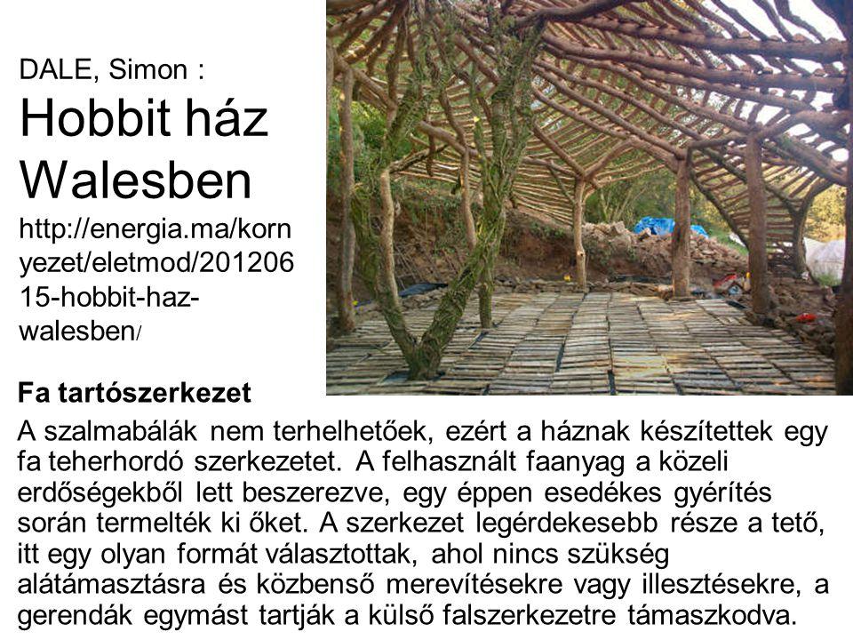DALE, Simon : Hobbit ház Walesben http://energia