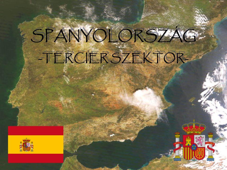 SPANYOLORSZÁG -TERCIER SZEKTOR-