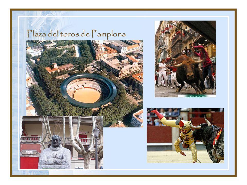 Plaza del toros de Pamplona