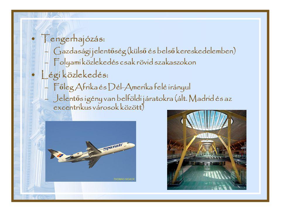Tengerhajózás: Légi közlekedés: