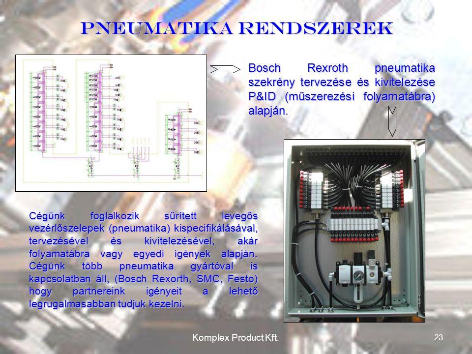 Pneumatika rendszerek